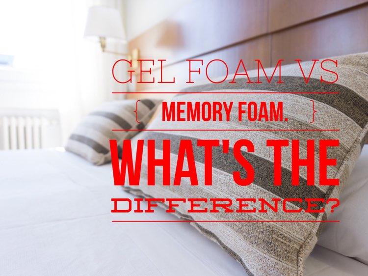 Gel Memory Foam vs Memory Foam What's the Difference