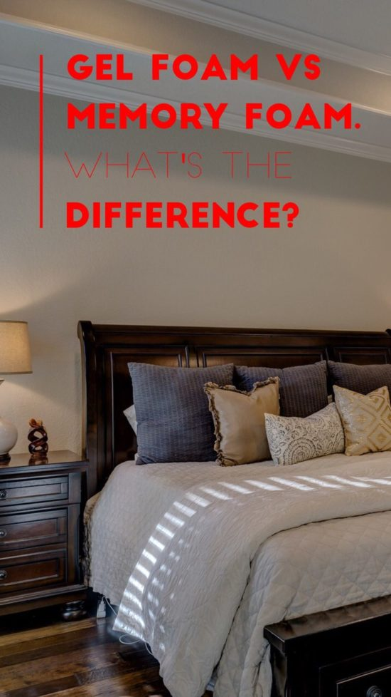 gel vs memory foam differences