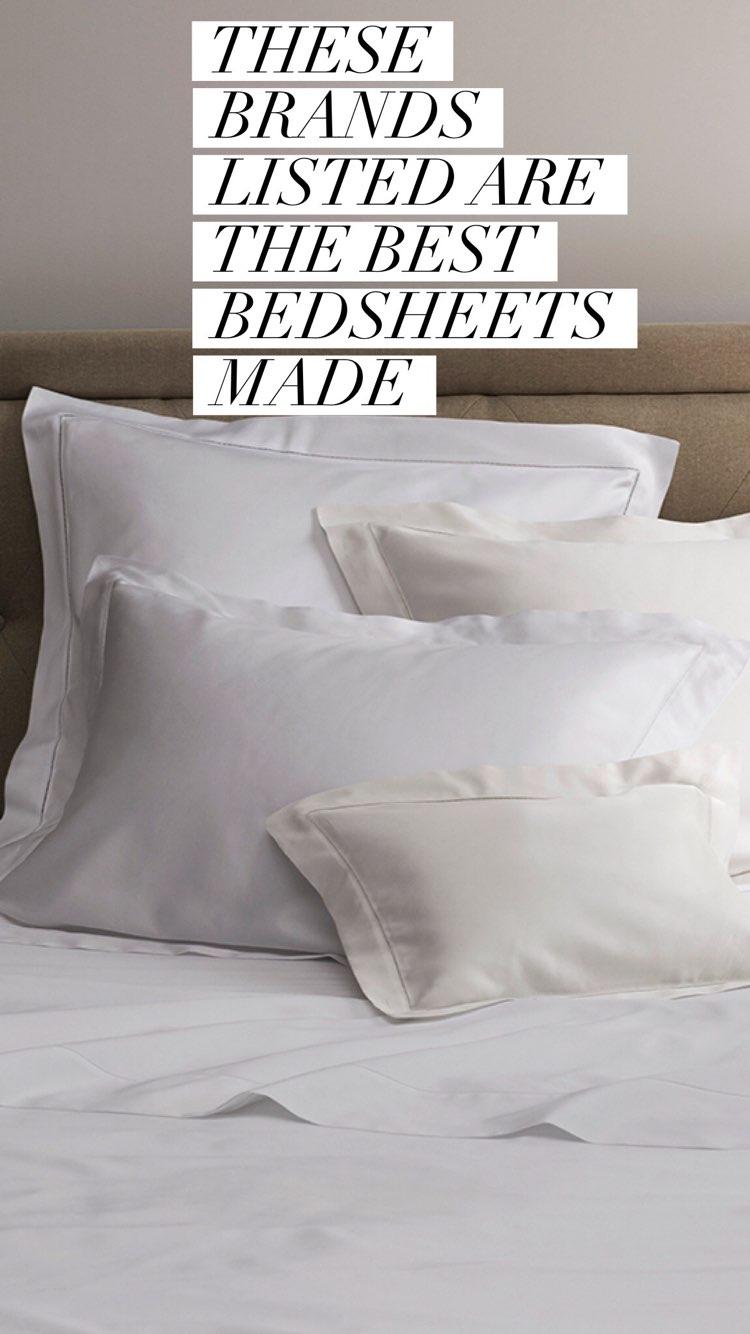 best bedsheets made list